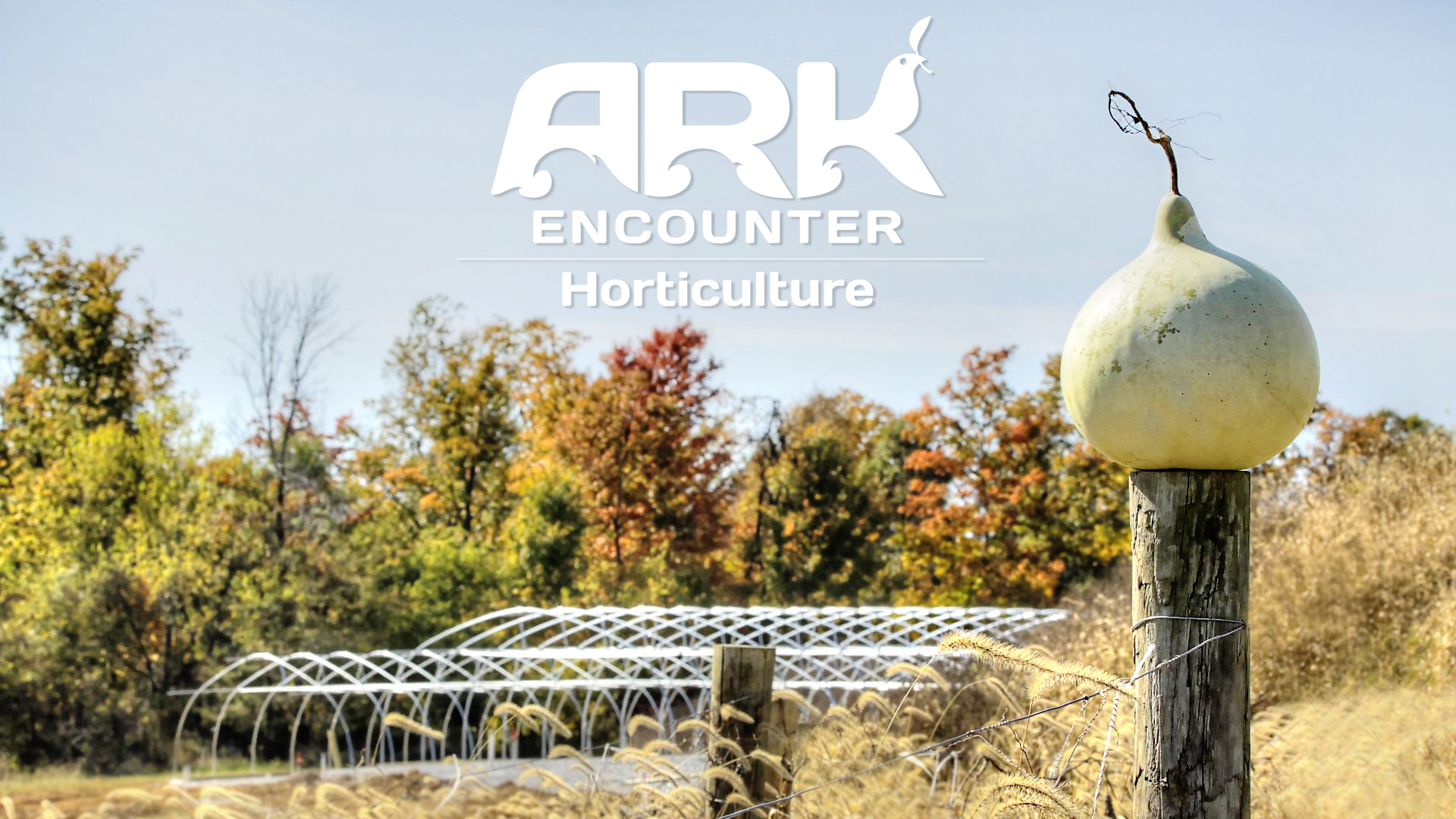 Horticulture efforts at the Ark Encounter