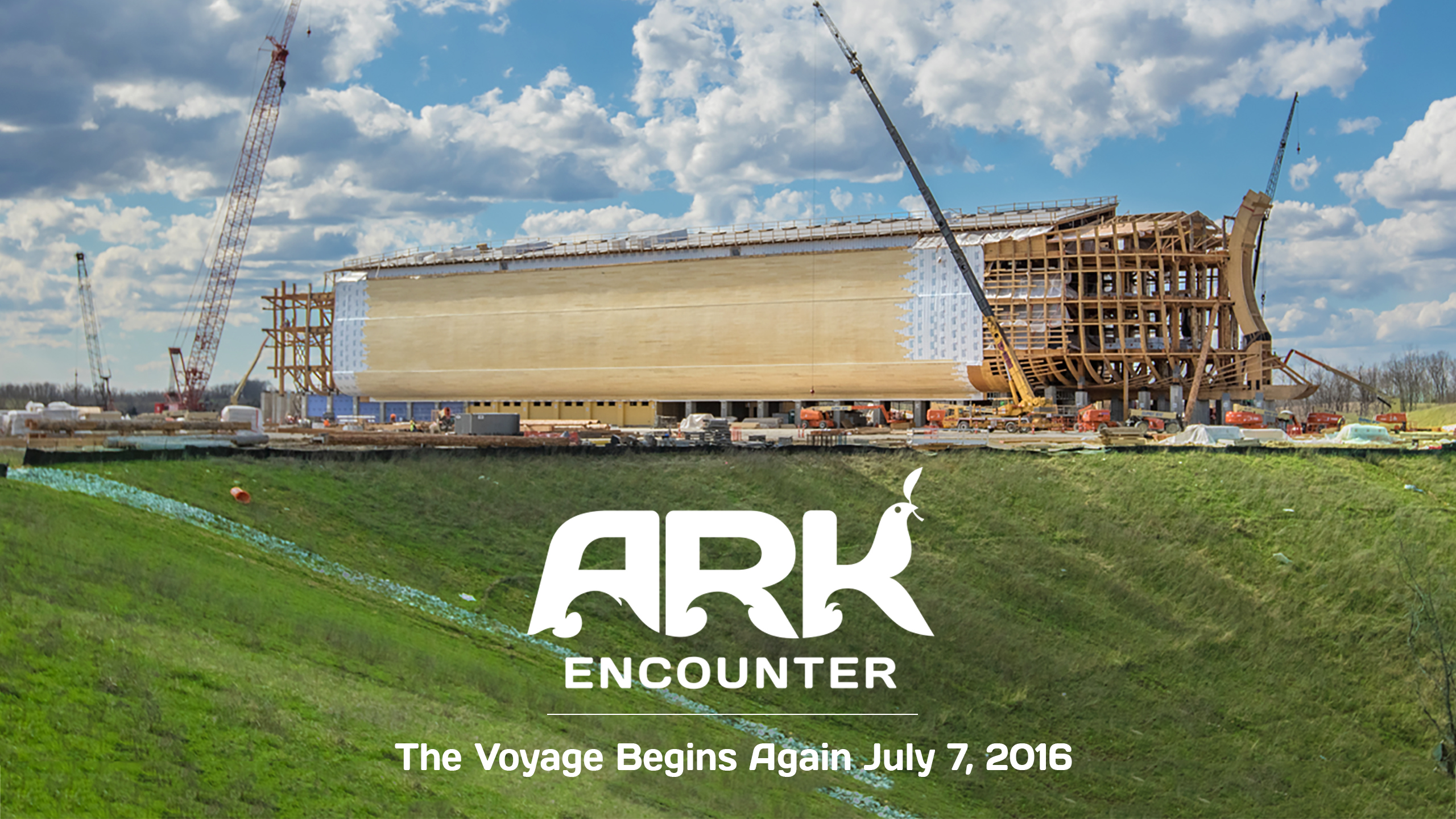 An overview of Ark Encounter.